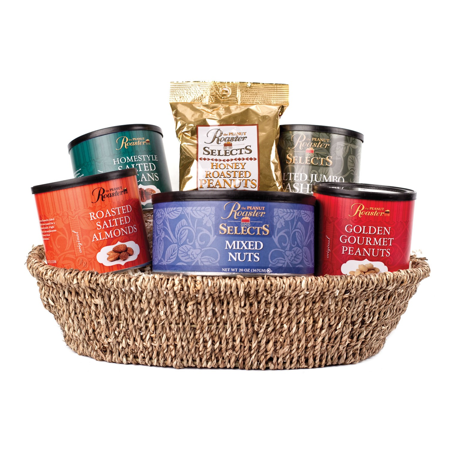 Gourmet Gift Basket | Food Gift | Business Gifts | Roasted Nuts ...