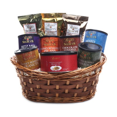 gourmet gift basket, business gifts