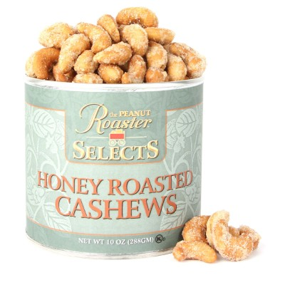 Honey Roasted Cashews, whole cashews