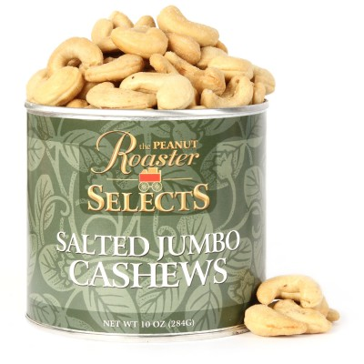 roasted cashews, whole cashews
