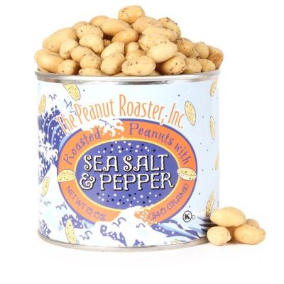 Sea Salt Pepper Peanuts, Roasted Nuts