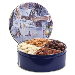 gourmet gift tins, mixed nuts