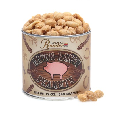 bacon peanuts, flavored peantus