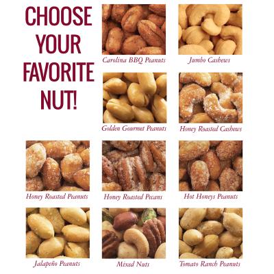 favorite nut, gourmet gift