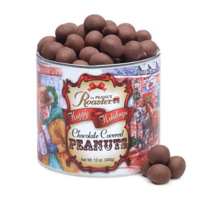 milk chocolate peanuts, gourmet gift