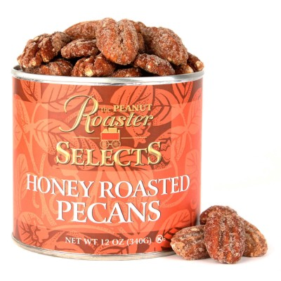 honey roasted pecans, candied nuts
