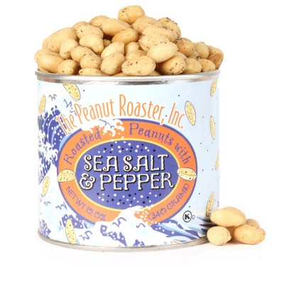 Sea Salt Pepper Peanuts, Roasted Nuts
