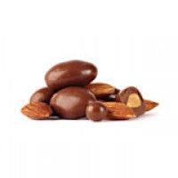 BAT Dark Chocolate Almonds - 12 oz.