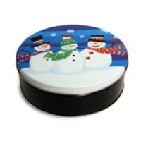 BAT Snowman Tin