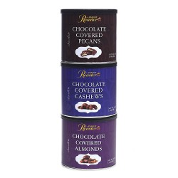 chocolate nuts, gift tower