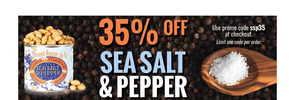 Sea Salt and Pepper Sale
