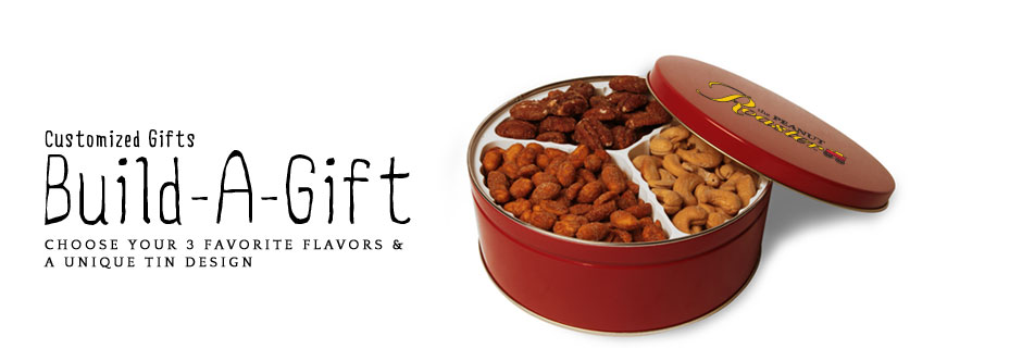 roasted nuts, flavored nuts, food gifts